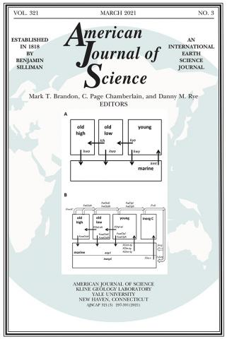 American Journal of Science: 321 (3)