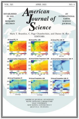 American Journal of Science: 321 (4)
