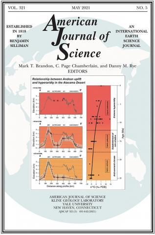 American Journal of Science: 321 (5)
