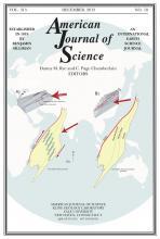 American Journal of Science: 313 (10)