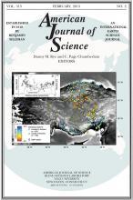 American Journal of Science: 313 (2)