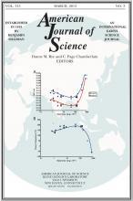 American Journal of Science: 313 (3)