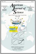 American Journal of Science: 313 (5)