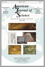American Journal of Science: 313 (6)