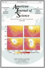 American Journal of Science: 313 (7)
