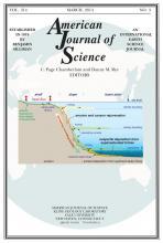 American Journal of Science: 314 (3)