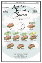 American Journal of Science: 314 (7)