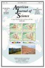 American Journal of Science: 314 (8)