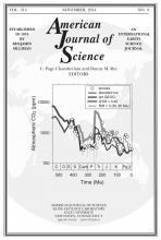 American Journal of Science: 314 (9)