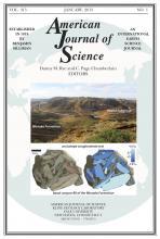American Journal of Science: 315 (1)
