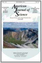 American Journal of Science: 315 (10)