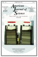American Journal of Science: 315 (2)