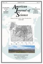 American Journal of Science: 315 (3)