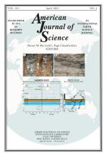 American Journal of Science: 315 (4)