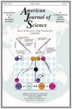 American Journal of Science: 315 (5)