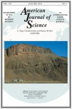 American Journal of Science: 316 (1)
