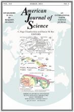 American Journal of Science: 316 (3)