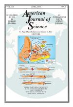 American Journal of Science: 316 (4)