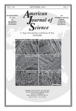 American Journal of Science: 316 (7)