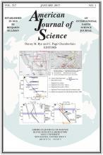 American Journal of Science: 317 (1)