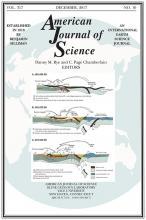 American Journal of Science: 317 (10)