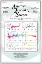 American Journal of Science: 317 (6)