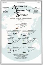 American Journal of Science: 317 (8)