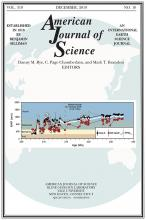 American Journal of Science: 319 (10)