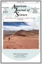American Journal of Science: 319 (3)