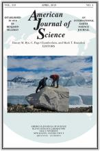American Journal of Science: 319 (4)