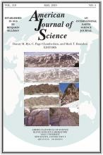 American Journal of Science: 319 (5)