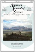 American Journal of Science: 319 (6)