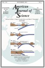 American Journal of Science: 319 (7)