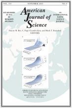 American Journal of Science: 319 (9)