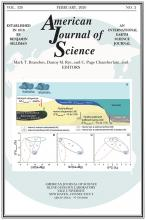American Journal of Science: 320 (2)