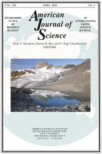 American Journal of Science: 320 (4)