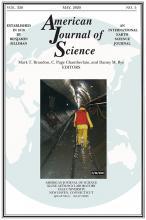 American Journal of Science: 320 (5)