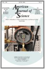 American Journal of Science: 320 (6)